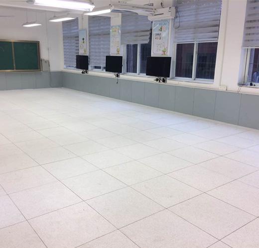 学校无边地板